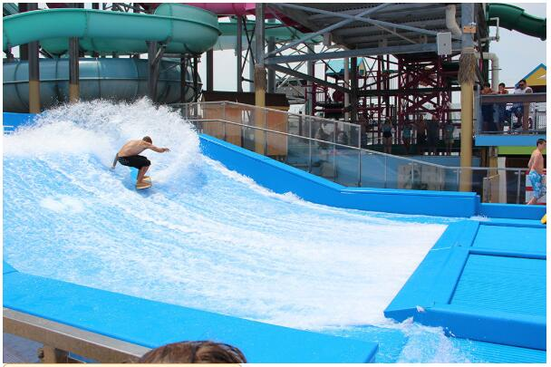 单人滑板冲浪
